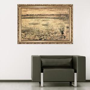 """Стикер за стена """"Ван Гог-Блато"""""""