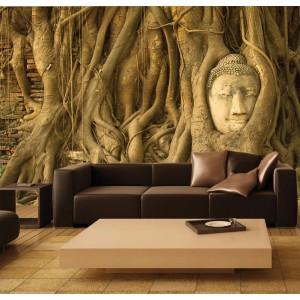 Фототапет за стена 'В корените на дървото'