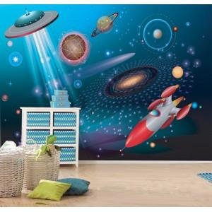 Фототапет за стена 'В космоса'
