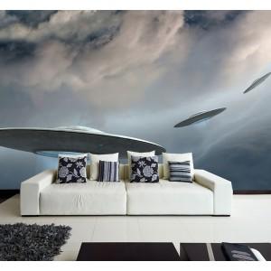 Фототапет за стена 'НЛО'