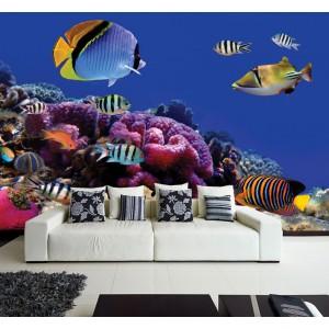 Фототапет за стена 'В аквариума'