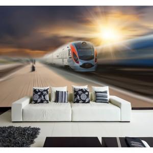 Фототапет за стена 'Бързината на влака'