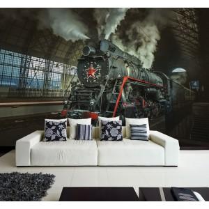 Фототапет за стена 'Бързият влак'