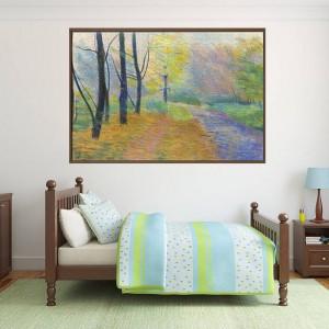 Канава - картина 'Есенна пътека'