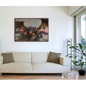Канава - картина 'Дракон'