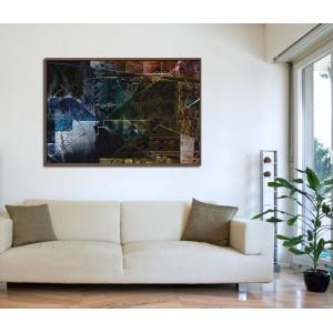 Канава - картина 'Абстрактно'