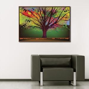 Канава - картина 'Абстрактно дърво'