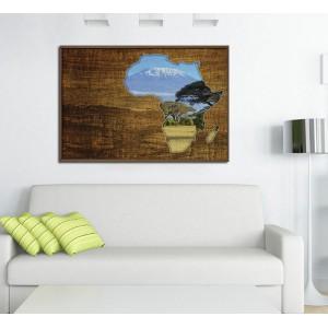 Канава - картина 'Африка'
