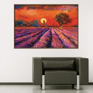 Канава - картина 'Залез в далечината'