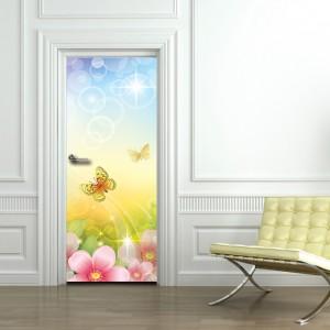 Фототапет  за врата 'Пролетен мотив'