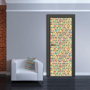 Фототапет  за врата 'Абстрактно'