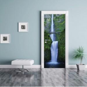 Фототапет за врата 'Водопади'