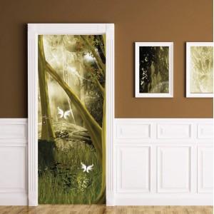 Фототапет  за врата 'Горска прелест'