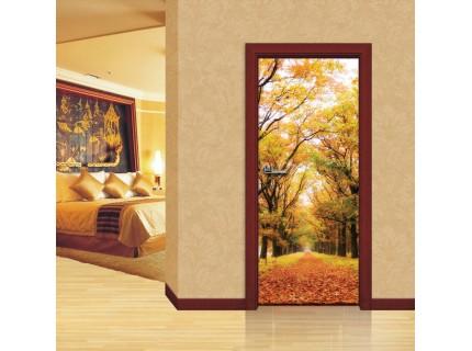 Фототапет за врата 'Есенни нюанси'