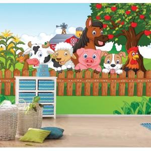 Фототапет за стена 'Във фермата'
