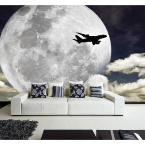 Фототапет за стена 'Нощен полет'