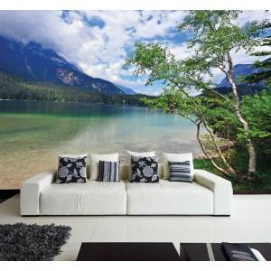 Фототапет за стена 'Брегът на езерото'