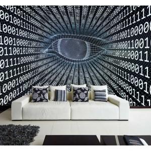 Фототапет за стена 'Кодиране'