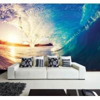 Фототапет за стена ''Цветовете на вълната'