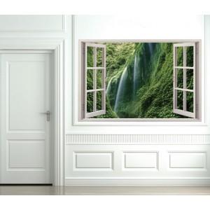Стикер за стена 'Изглед към водопада'